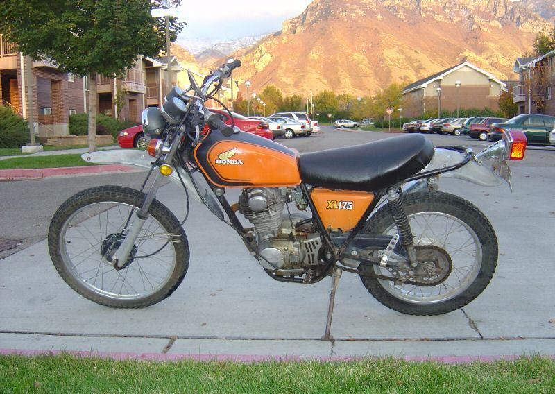 1974 Honda xl 175 manual for sale on