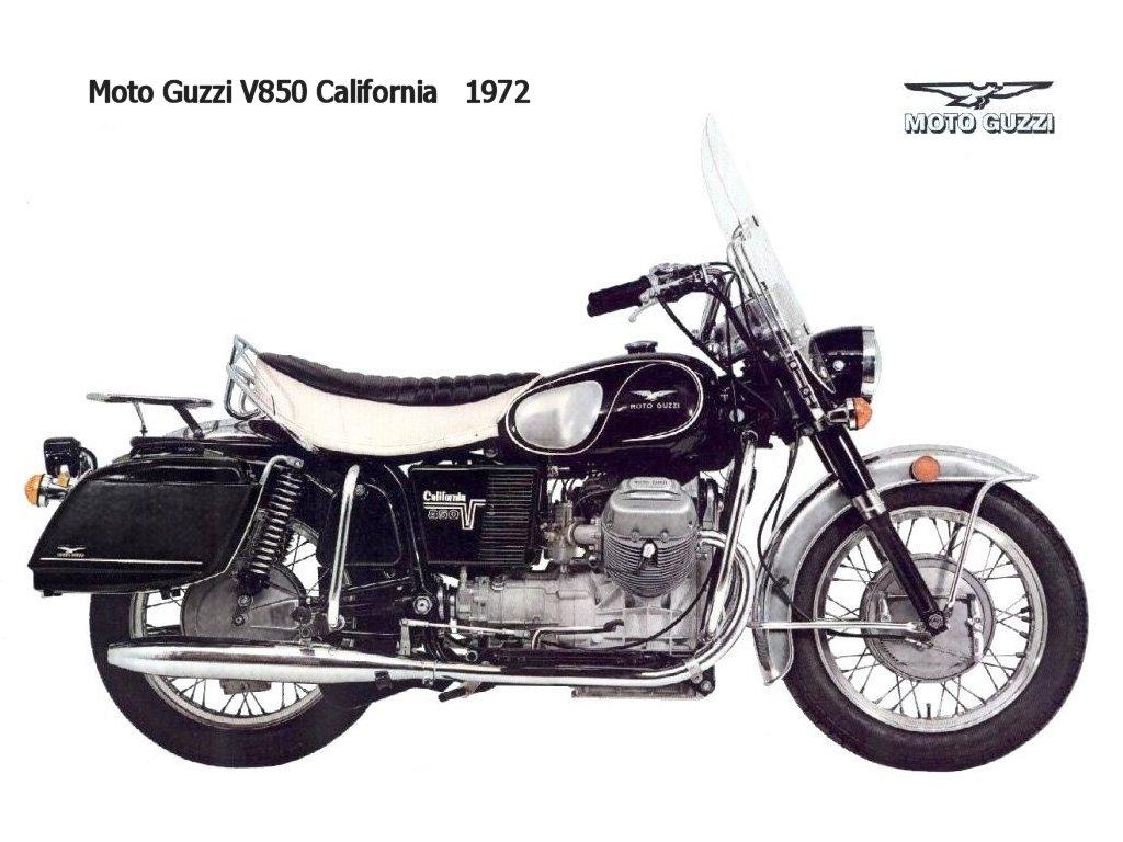 Le jeu de l'image 1972-Moto-Guzzi-V850-California