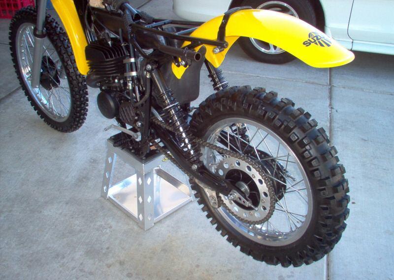 Suzuki XF650 Freewind Scrambler - BikeBound