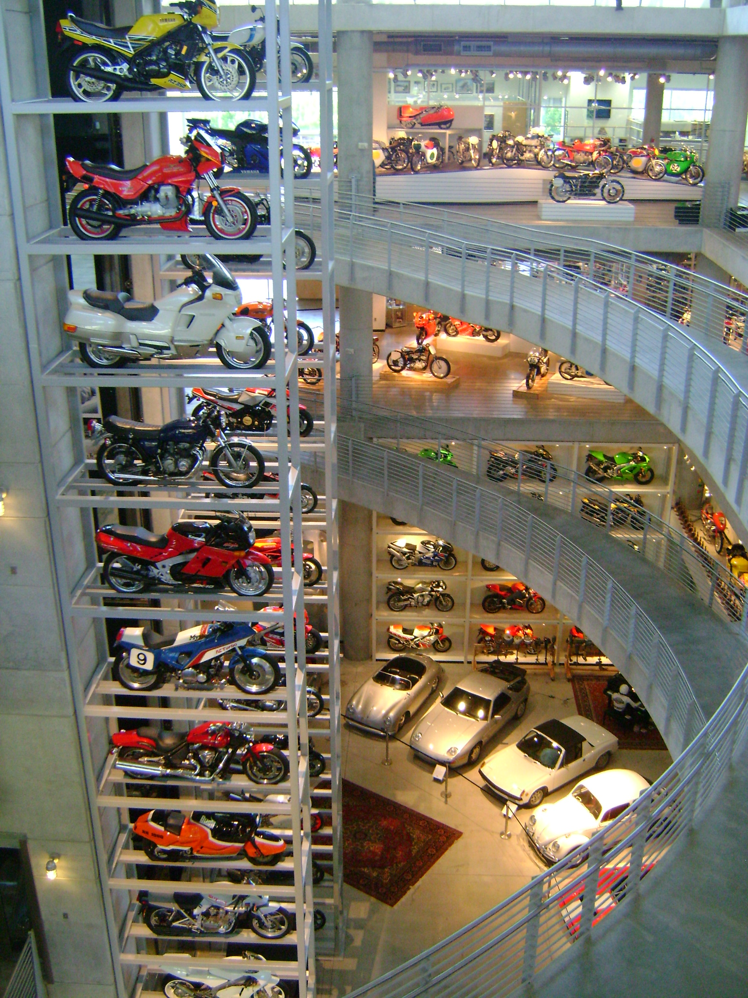 So yesterday I went to Barber Motorsports Museum near Birmingham, AL ...