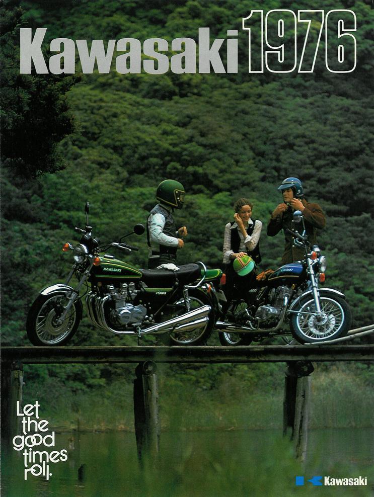 Kawasaki Kz900a Brochures Cyclechaos