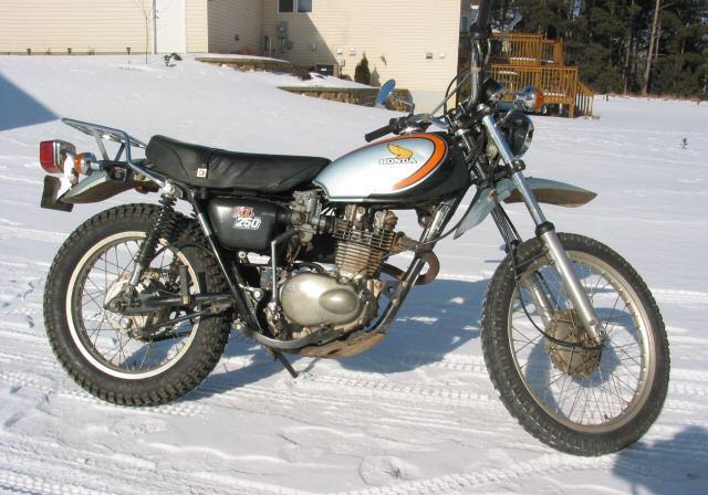 Manual Honda 1980 xl250 on