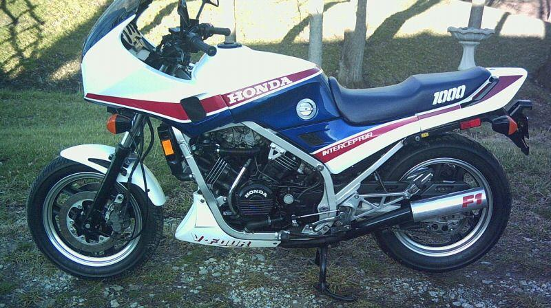 Honda Interceptor Vf F Blue on 1980 Gs550e