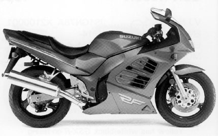 1993 – 1999 Suzuki RF600 RF 600 – REPAIR MANUAL