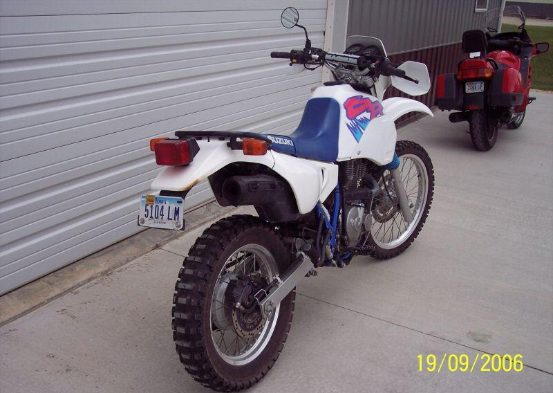 1992 Suzuki Dr650 Parts  Moose Racing Expedition Luggage Rack System