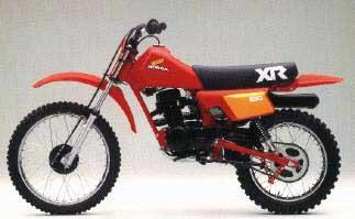 Honda Xr on 1983 Honda Xr100