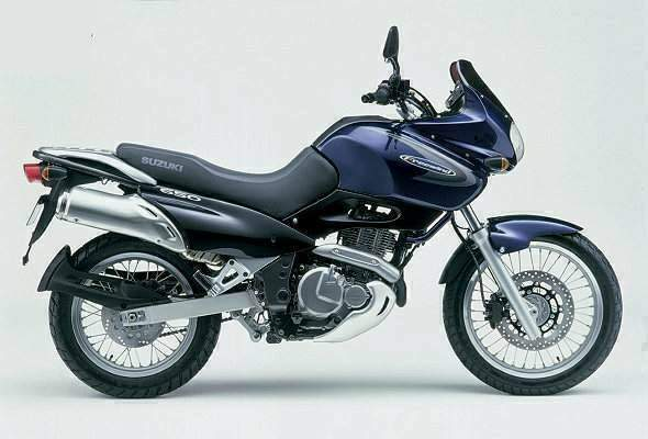 Suzuki XF650 Freewind: history, specs, pictures - CycleChaos