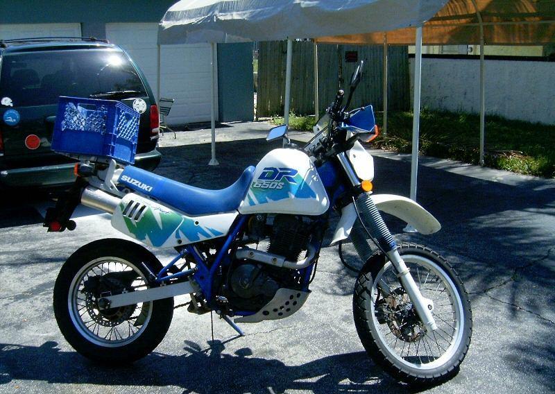 1991 suzuki dr650