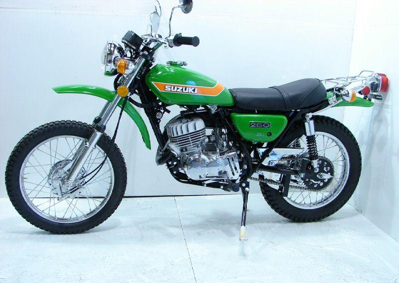 Suzuki ts250 1973 suzuki ts250 green 3855 5 jpg