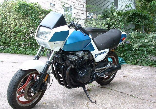 1983 suzuki gs750es by - photo #36