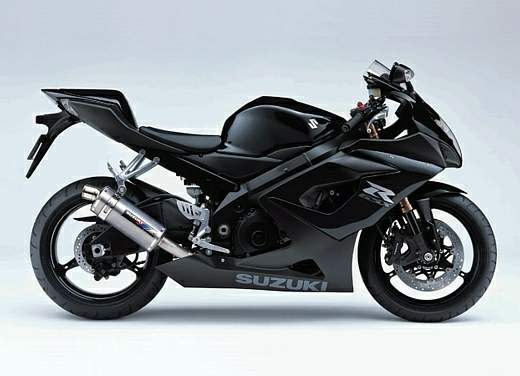 Suzuki GSX-R 1000 Matte Black Limited Edition
