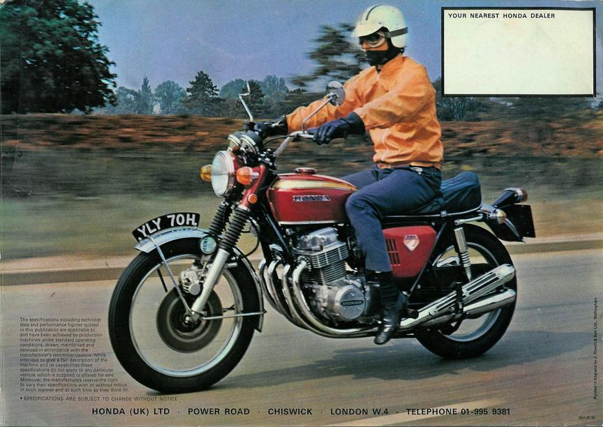 Honda CB750K/brochures - CycleChaos