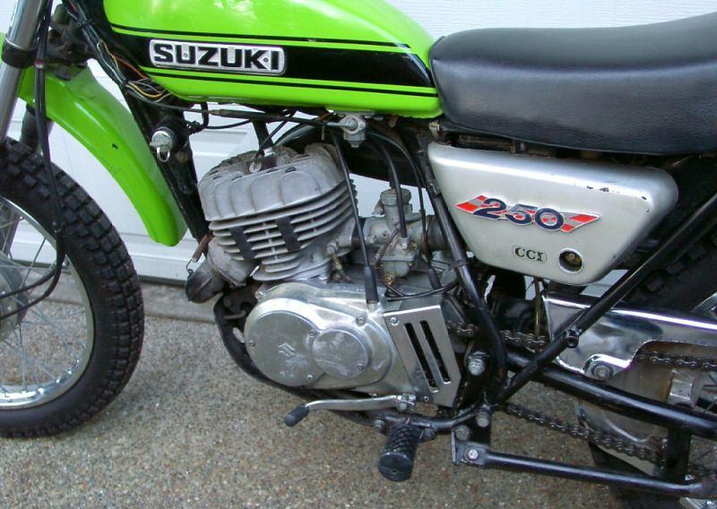 Pin 1971 suzuki 250 on pinterest