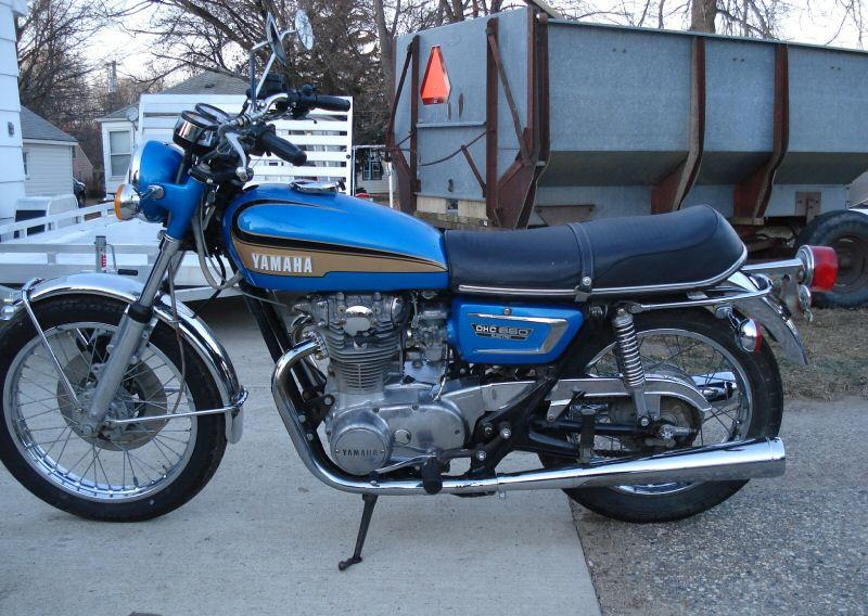 Index of images b b6 for 1973 yamaha tx650