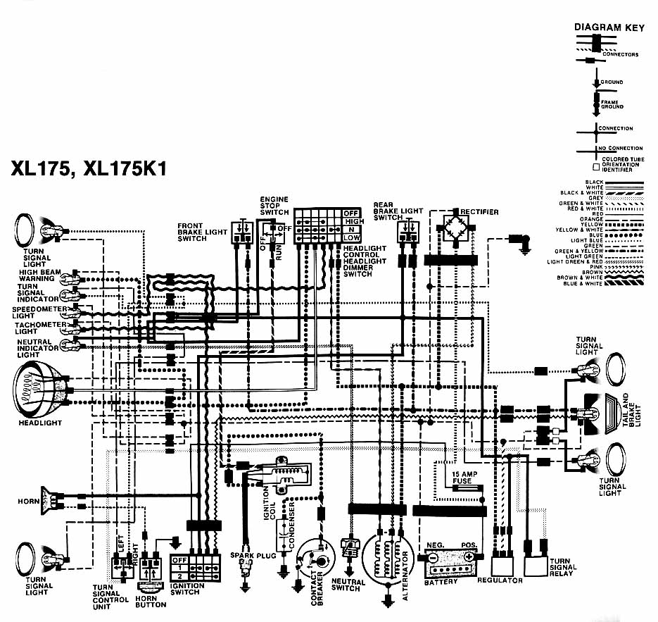 wiring diagram honda xl 125 wiring wiring diagrams