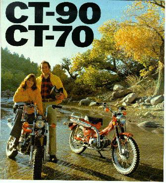 Honda CT70/ads - CycleChaos