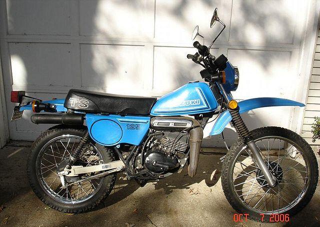 Suzuki Ts125 Images - Reverse Search
