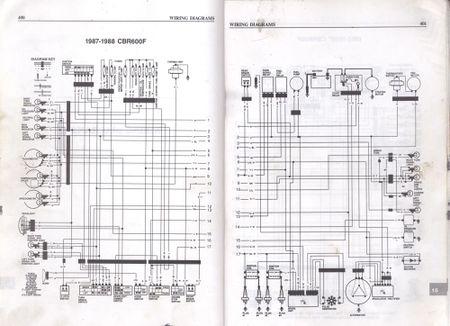 450px-1987-1988-Honda-CBR600F-Wiring-Diagrams  Cbr Wiring Diagram on