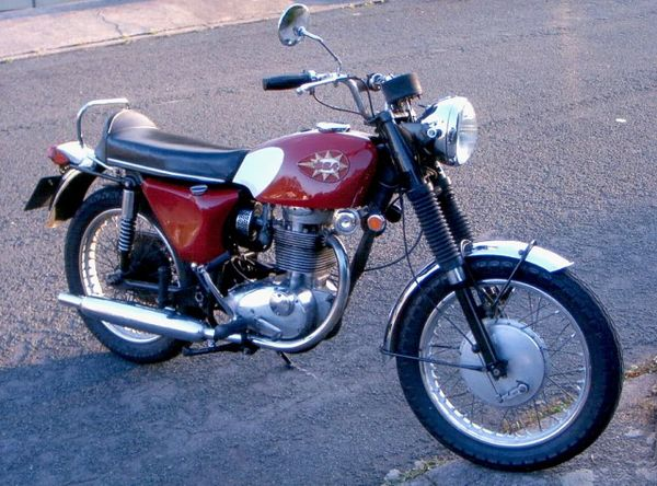 1965 - 1970 BSA B44 Shooting Star