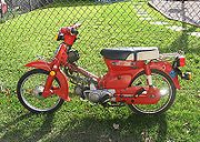 1981 Honda Passport C70 in Red
