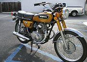 honda cb175k cyclechaos 1972 honda cb175 in candy gold
