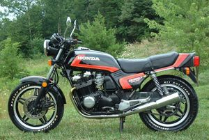 1981 Honda CB900F Super Sport in Black/Orange