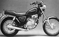 Suzuki Gn250 History Specs Pictures Cyclechaos
