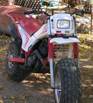 Px Yamaha Bw White on 1994 Xt 200 Yamaha