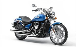 2007 Kawasaki Vulcan 900 Custom In Candy Plasma Blue