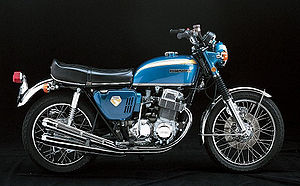 1969 Honda CB750K0 in Blue