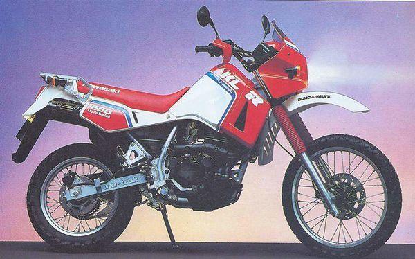 Kawasaki KL650A KLR650: history, specs, pictures - CycleChaos