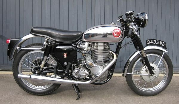 1954 - 1970 BSA B34 Gold Star Clubman