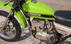 Suzuki TS250: history, specs, pictures - CycleChaos
