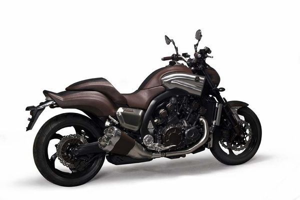 Yamaha vmax concept leather 1