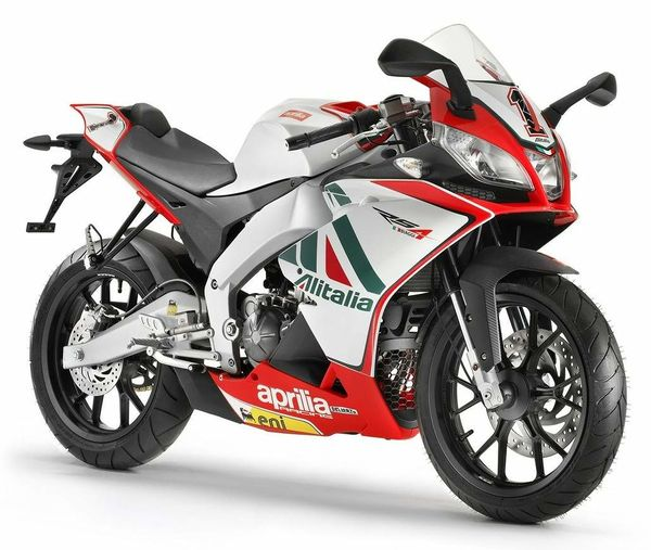 2012 Aprilia RS4 125 Team Aprilia Alitalia Racing Replica