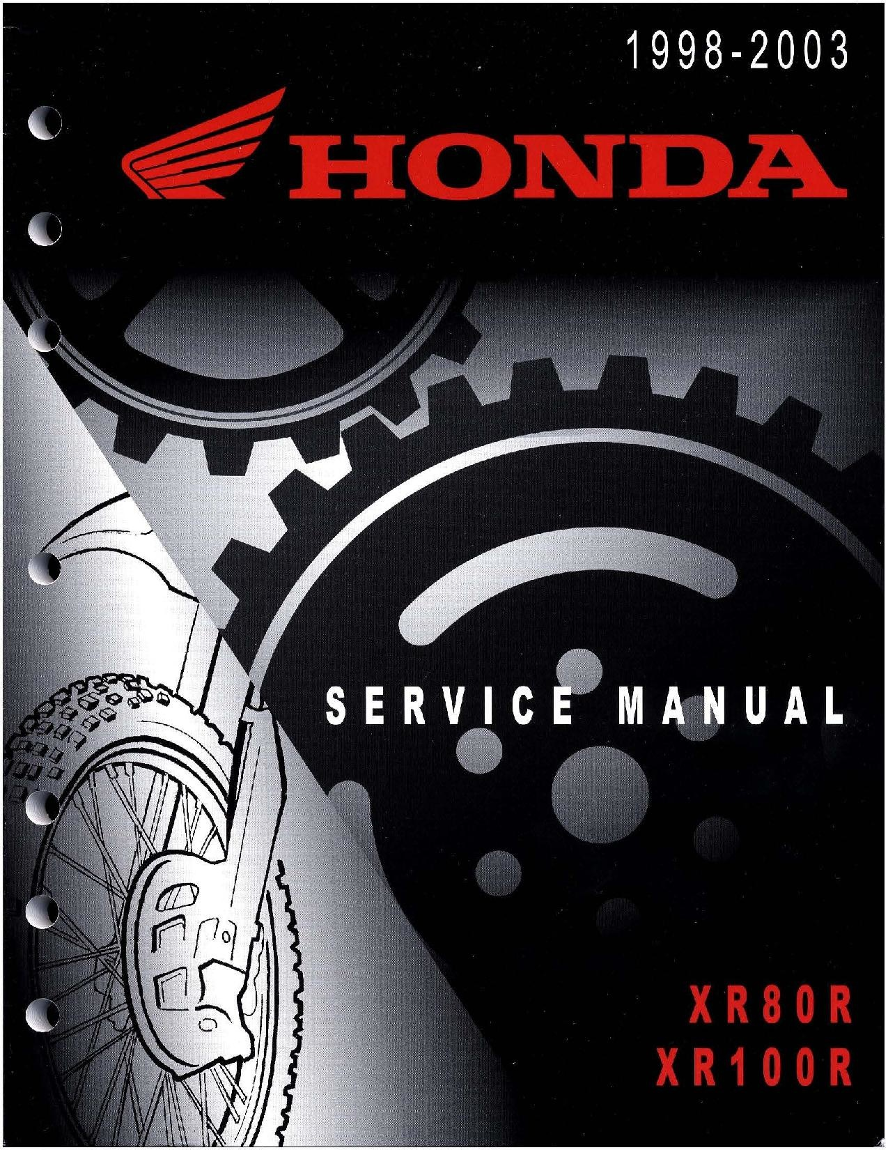 File:Honda XR80R XR100R 1998 2003 Service Manual.pdf