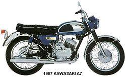 1967 Kawasaki A7 Avenger