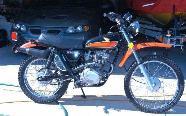 index of images thumb 5 59 1977 honda xl125 black orange. Black Bedroom Furniture Sets. Home Design Ideas