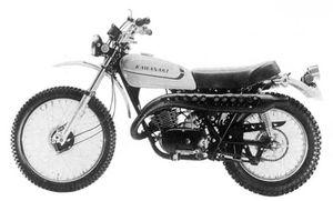 1973 kawasaki f9a