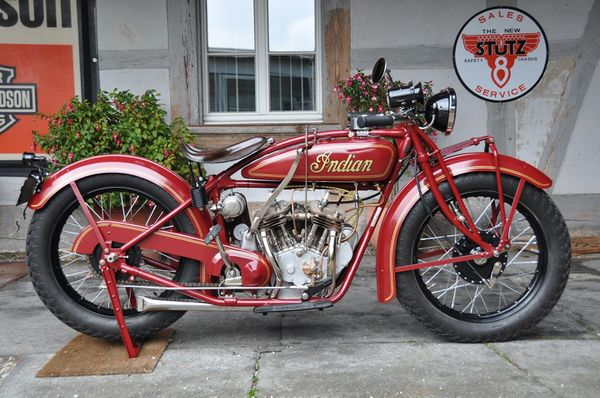 1920 - 1927 Indian Scout 37