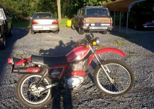 1979 Honda XL500S in Red