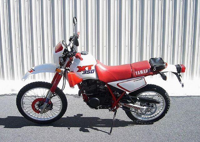 Yamaha Red And White