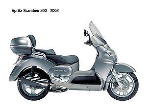 2003 Aprilia Scarabeo 500