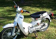 1983 Honda Passport C70 in Silver