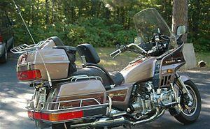 1986 Honda Gold Wing 1200 Aspencade In Tan