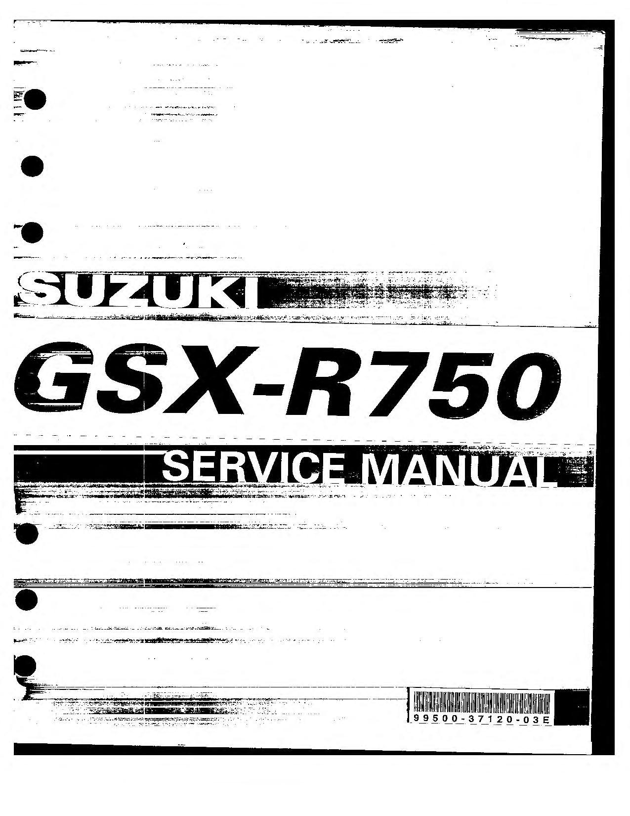 File:Suzuki GSX-R750 K4-K5 Service Manual.pdf - CycleChaos
