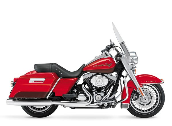 2002 Harley Davidson Firefighter Road King Special Edition