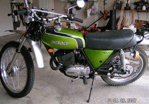 kawasaki ks125 cyclechaos rh cyclechaos com Kawasaki Vulcan 1500 1972 Kawasaki 125