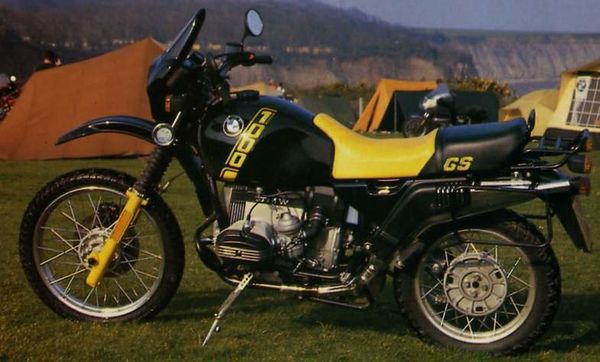 1988 BMW R 100 GS Bumble Bee