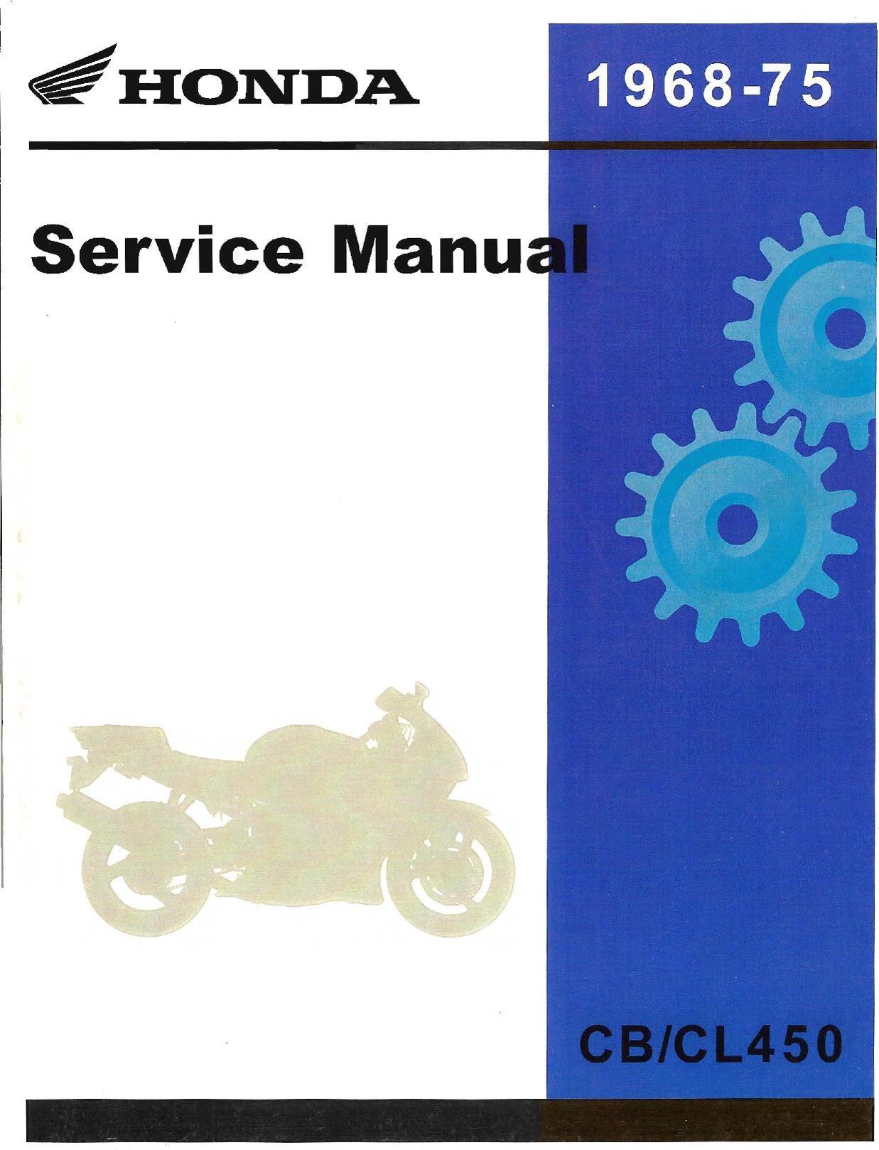 File:Honda CB450 CL450 Factory Service Manual.pdf - CycleChaos